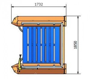 Pallet Dispenser Diagram
